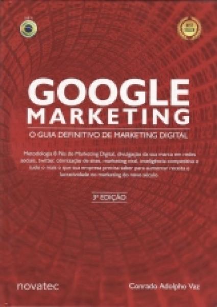 Capa de Google Marketing - Conrado Adolpho Vaz