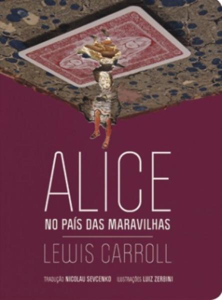 Capa de Alice no País das Maravilhas - Lewis Carroll