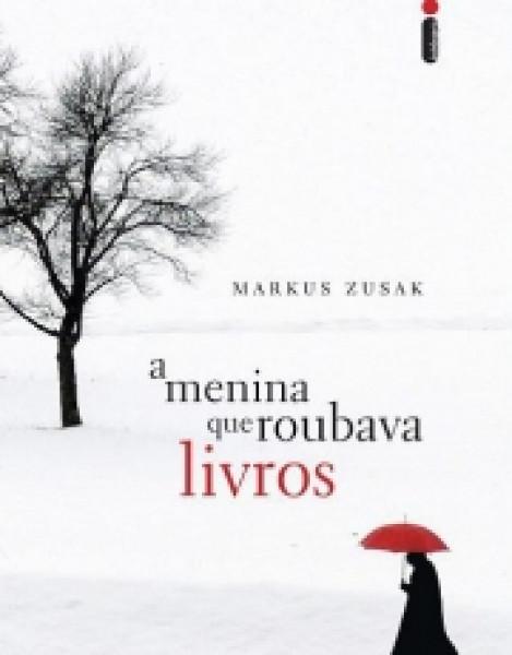 Capa de A menina que roubava livros - Markus Zusak