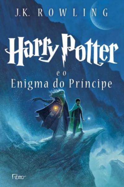Capa de Harry Potter e o enigma do príncipe - J. K. Rowling