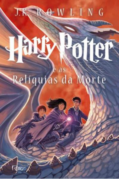 Capa de Harry Potter e as reliquias da morte - J. K. Rowling