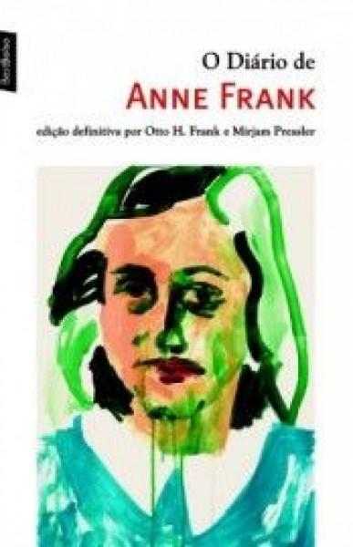 Capa de O diário de Anne Frank - Anne Frank; Otto H. Frank; Mirjam Pressler