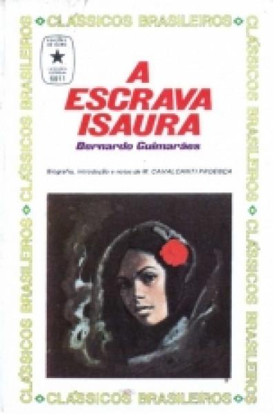 Capa de A escrava Isaura - Bernardo Guimarães