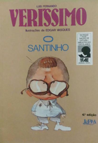 Capa de O santinho - Luis Fernando Verissimo
