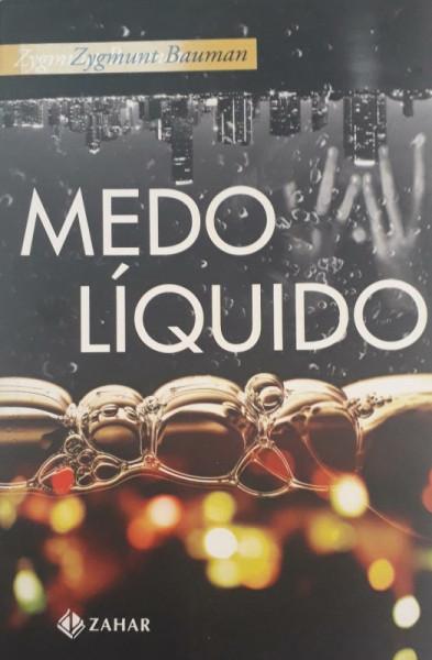 Capa de Medo líquido - Zygmunt Bauman