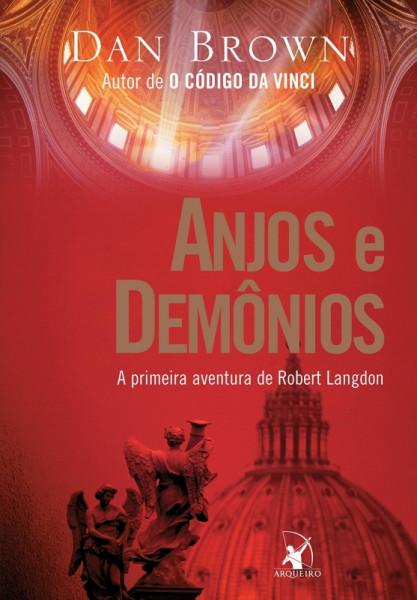 Capa de Anjos e demônios - Dan Brown