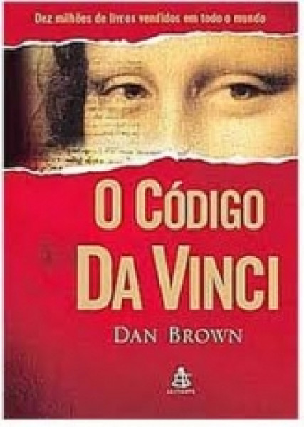 Capa de O código Da Vinci - Dan Brown
