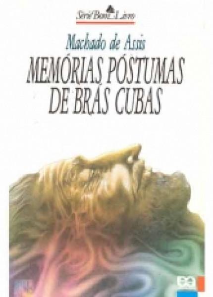 Capa de Memórias póstumas de Brás Cubas - Machado de Assis