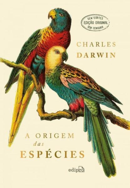 Capa de A origem das espécies - Charles Darwin