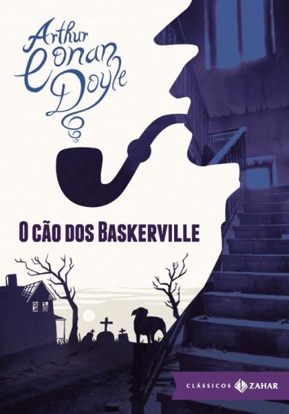 Capa de O cão dos Baskervilles - Arthur Conan Doyle