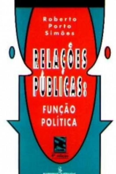 Capa de Relações públicas - Roberto Porto Simões