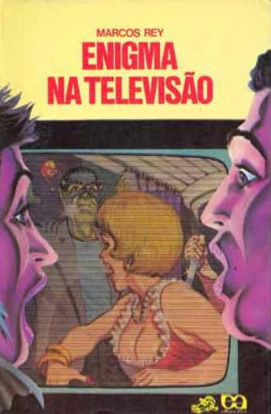 Capa de Enigma na televisão - Marcos Rey