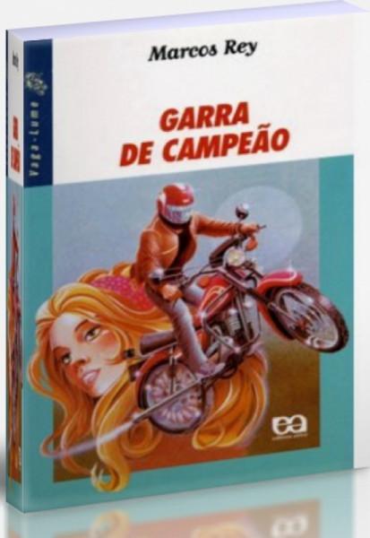 Capa de Garra de campeão - Marcos Rey