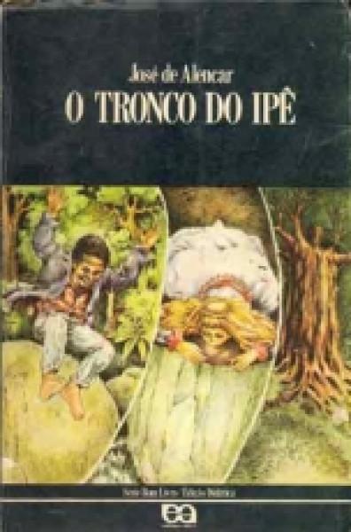 Capa de O tronco do ipê - José de Alencar