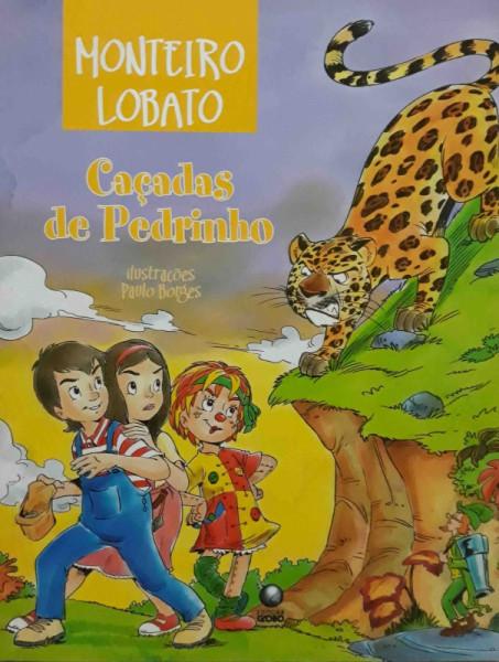 Capa de Caçadas de Pedrinho - Monteiro Lobato