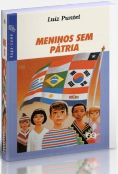 Capa de Meninos sem pátria - Luiz Puntel