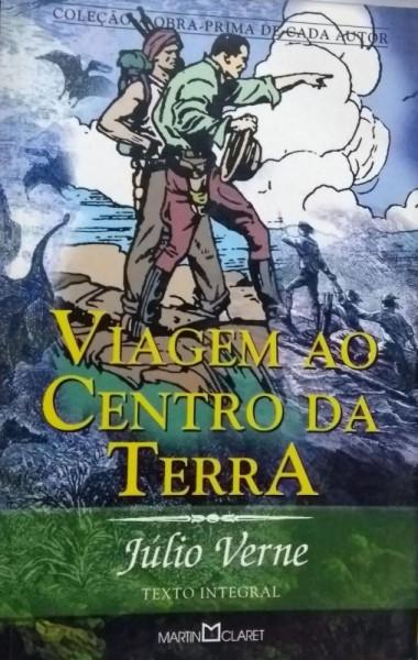 Capa de Viagem ao centro da Terra - Julio Verne