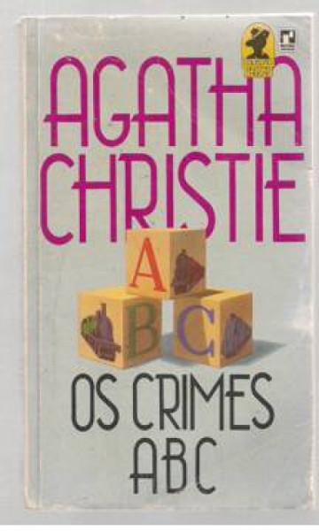 Capa de Os crimes ABC - Agatha Christie