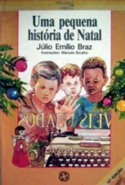Capa de Uma pequena história da Natal - Júlio Emílio Braz
