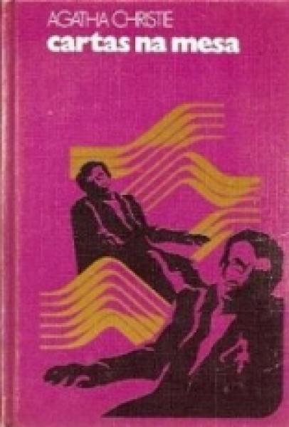 Capa de Cartas na mesa - Agatha Christie
