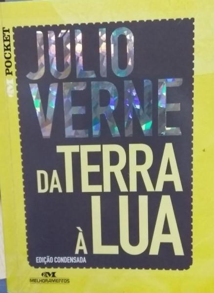 Capa de Da Terra à Lua - Julio Verne