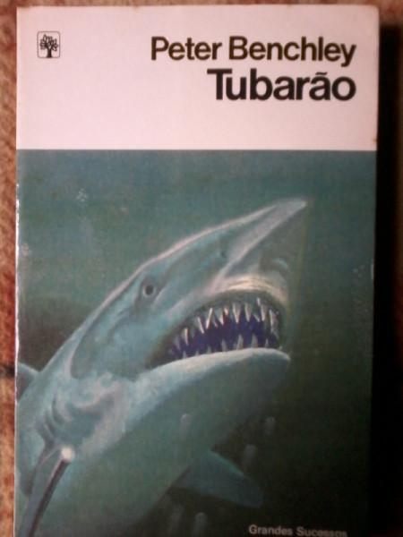 Capa de Tubarão - Peter Benchley