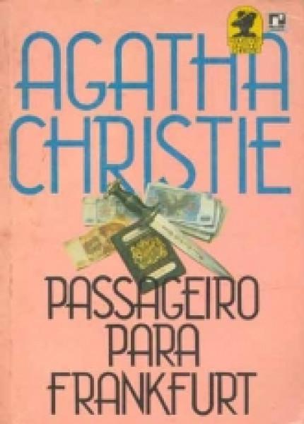 Capa de Passageiro para Frankfurt - Agatha Christie