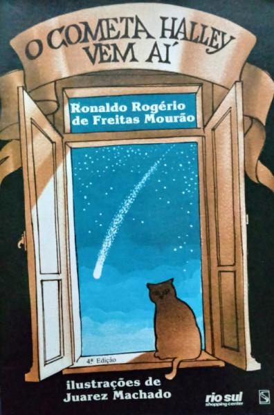 Capa de O cometa Halley vem aí - Ronaldo Rogério de Freitas Mourão