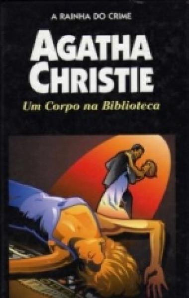 Capa de Um corpo na biblioteca - Agatha Christie