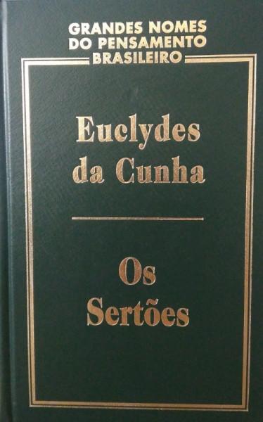 Capa de Os sertões - Euclides da Cunha