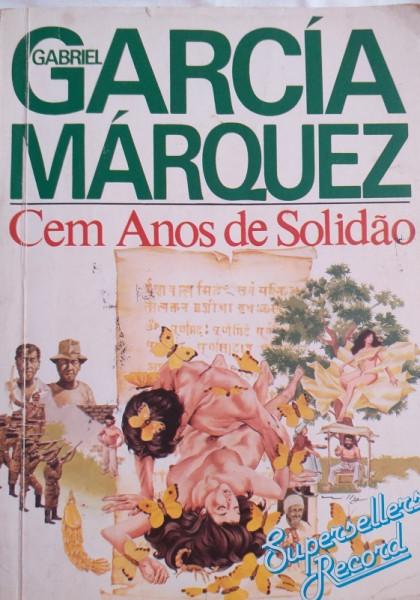 Capa de Cem anos de solidão - Gabriel García Márquez