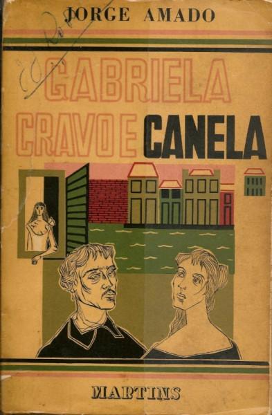 Capa de Gabriela, cravo e canela - Jorge Amado