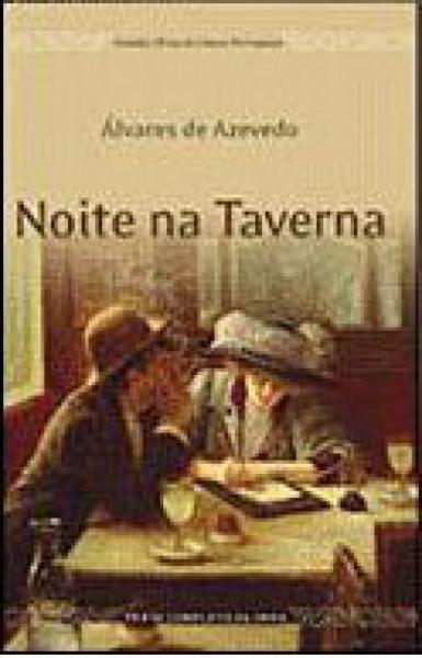 Capa de Noite na taverna - Álvares de Azevedo