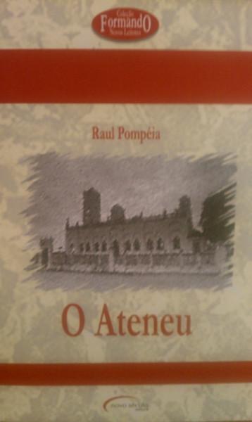 Capa de O ateneu - Raul Pompéia
