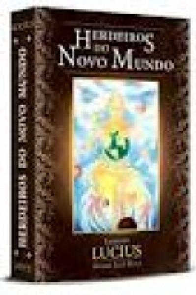 Capa de Herdeiros do novo mundo - André Luiz Ruiz; Espírito Lucius