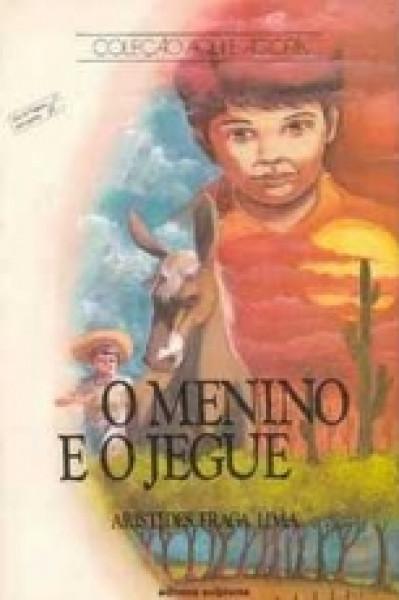 Capa de O menino e o jegue - Aristides Fraga Lima