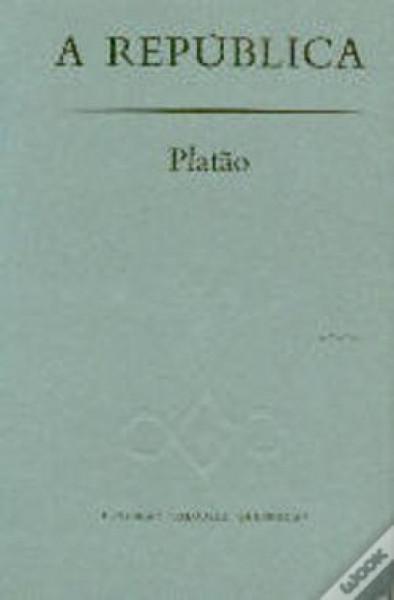 Capa de A república - Platão