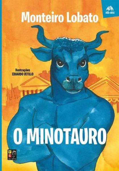 Capa de O minotauro - Monteiro Lobato