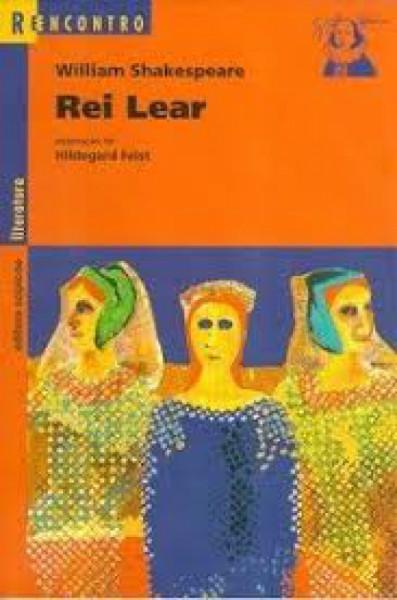 Capa de Rei Lear - William Shakespeare