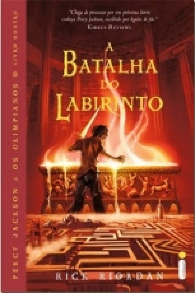 Capa de A batalha do labirinto - Rick Riordan