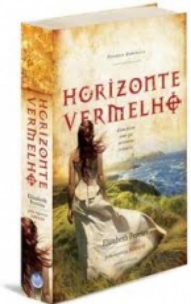 Capa de Horizonte vermelho - Elizabeth Pereira; Espírito Sophie