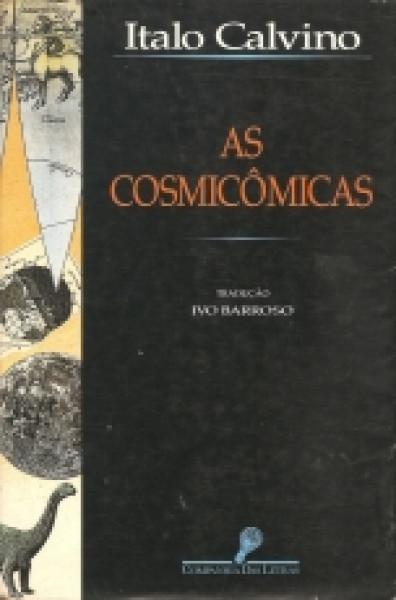 Capa de As cosmicômicas - Italo Calvino