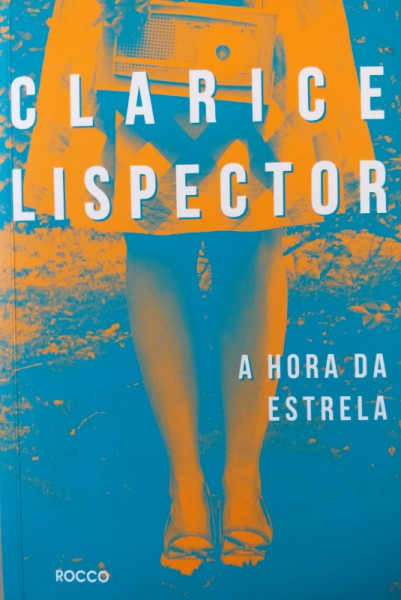 Capa de A hora da estrela - Clarice Lispector
