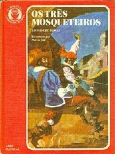 Capa de Os três mosqueteiros - Alexandre Dumas; Miécio Táti (adapt.)