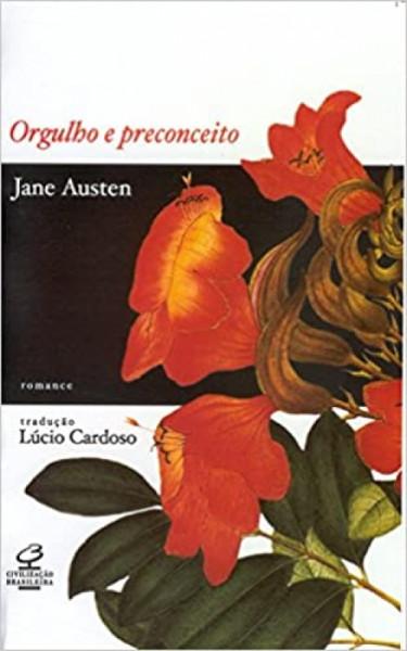 Capa de Orgulho e preconceito - Jane Austen