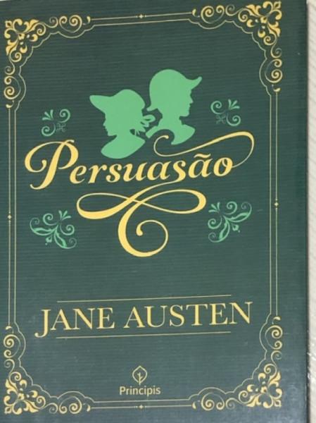 Capa de Persuasão - Jane Austen