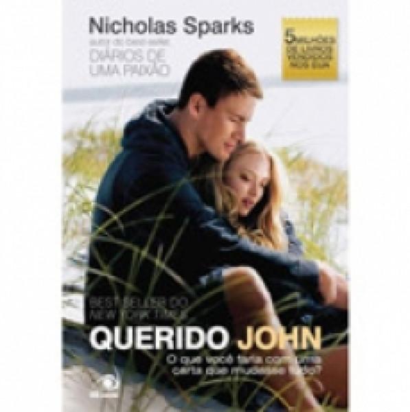 Capa de Querido John - Nicholas Sparks