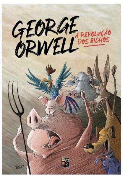 Capa de A revolução dos bichos - George Orwell