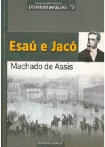 Capa de Esaú e Jacó - Machado de Assis