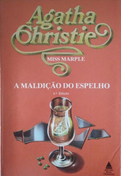 Capa de A maldição do espelho - Agatha Christie
